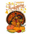 Thanksgiving Day Logo 40 decal sticker