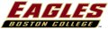 Boston College Eagles 2001-Pres Wordmark Logo 02 decal sticker