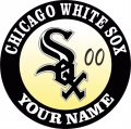 Chicago White Sox Customized Logo decal sticker