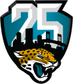 Jacksonville Jaguars 2019 Anniversary Logo iron on sticker