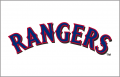 Texas Rangers 2001-2008 Jersey Logo iron on sticker