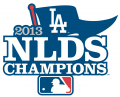 Los Angeles Dodgers 2013 Champion Logo 01 decal sticker