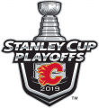 Calgary Flames 2018 19 Event Logo decal sticker