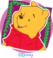 Disney Pooh Logo 15 decal sticker