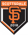 San Francisco Giants 2018 Event Logo 01 decal sticker