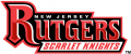 Rutgers Scarlet Knights 1995-Pres Wordmark Logo 01 iron on sticker