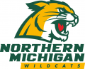 Northern Michigan Wildcats 2016-Pres Primary Logo iron on sticker