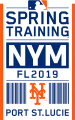 New York Mets 2019 Event Logo iron on sticker