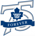 Toronto Maple Leafs 2001 02 Anniversary Logo iron on sticker