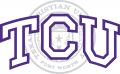 TCU Horned Frogs 1995-Pres Alternate Logo 01 decal sticker