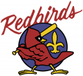 Louisville Redbirds 1982-1997 Primary Logo iron on sticker