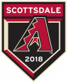 Arizona Diamondbacks 2018 Event Logo iron on sticker