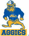 North Carolina A&T Aggies 1988-2005 Primary Logo iron on sticker