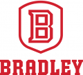 Bradley Braves 2012-Pres Primary Logo iron on sticker