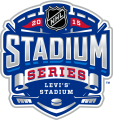 NHL Stadium Series 2014-2015 Logo iron on sticker