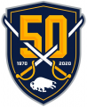 Buffalo Sabres 2019 20 Anniversary Logo 02 iron on sticker