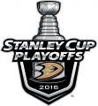 Anaheim Ducks 2015 16 Event Logo decal sticker