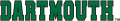Dartmouth Big Green 2000-Pres Wordmark Logo 02 iron on sticker