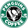 Pittsburgh Penguins Starbucks Coffee Logo iron on sticker