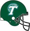 Tulane Green Wave 1998-2013 Helmet Logo decal sticker