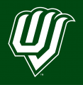 Utah Valley Wolverines 2012-Pres Alternate Logo 05 iron on sticker