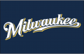 Milwaukee Brewers 2016-2019 Jersey Logo iron on sticker