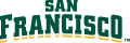 San Francisco Dons 2012-Pres Wordmark Logo 07 decal sticker