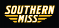 Southern Miss Golden Eagles 2003-Pres Wordmark Logo decal sticker