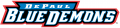 DePaul Blue Demons 1999-Pres Wordmark Logo iron on sticker