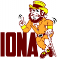 Iona Gaels 1982-2002 Primary Logo iron on sticker