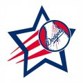 Los Angeles Dodgers Baseball Goal Star logo decal sticker