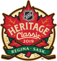 NHL Heritage Classic 2019-2020 Logo iron on sticker