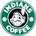 Cleveland Indians Starbucks Coffee Logo iron on sticker