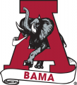 Alabama Crimson Tide 1974-2000 Secondary Logo iron on sticker