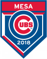 Chicago Cubs 2018 Event Logo decal sticker