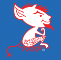DePaul Blue Demons 1979-1998 Alternate Logo iron on sticker