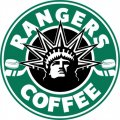 New York Rangers Starbucks Coffee Logo iron on sticker