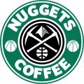 Denver Nuggets Starbucks Coffee Logo decal sticker