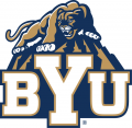 Brigham Young Cougars 2005-2014 Alternate Logo 02 iron on sticker