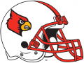 Louisville Cardinals 2007-2008 Helmet iron on sticker