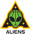 Aliens 2019-Pres Primary Logo iron on sticker