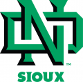 North Dakota Fighting Hawks 2012-2015 Alternate Logo 01 iron on sticker