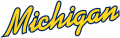 Michigan Wolverines 1996-Pres Wordmark Logo 06 iron on sticker