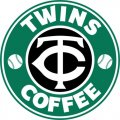 Minnesota Twins Starbucks Coffee Logo iron on sticker