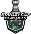 Minnesota Wild 2013 14 Event Logo decal sticker