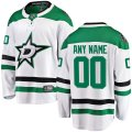 Dallas Stars Custom Letter and Number Kits for White Jersey