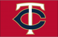 Minnesota Twins 2017-Pres Cap Logo iron on sticker