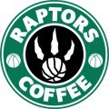 Toronto Raptors Starbucks Coffee Logo decal sticker