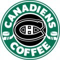 Montreal Canadiens Starbucks Coffee Logo iron on sticker