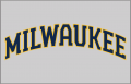 Milwaukee Brewers 2020-Pres Jersey Logo 01 iron on sticker